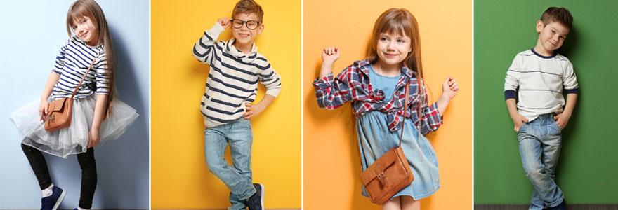 Marques de vêtements d'enfants